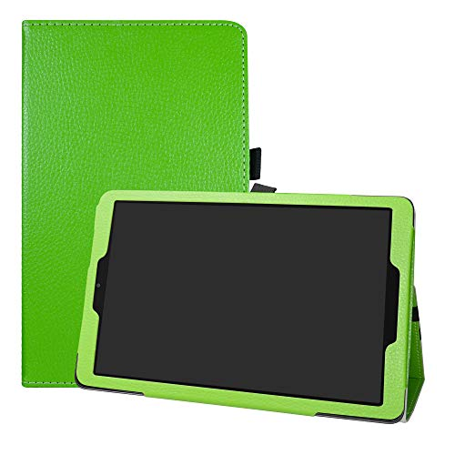 LFDZ Alcatel A3 WiFi Hülle, Schutzhülle mit Hochwertiges PU Leder Tasche Hülle für 10.0