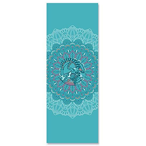 Shykey Nieuwe versie van het sterrenbeeld stijl pvc yoga mat, home beginner anti-slip fitness mat, fitnessproducten, Pilates en vloer oefening matten
