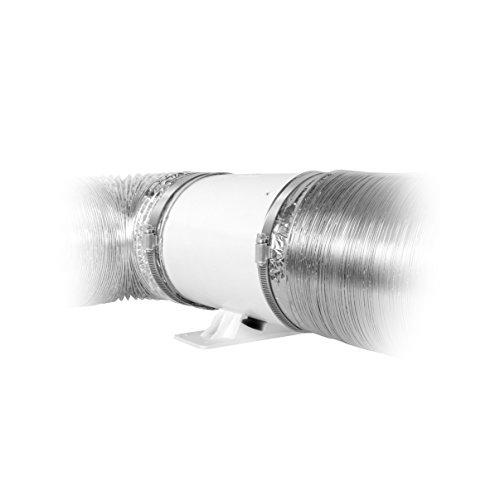 6″ Silent Inline Duct Fan, 26W, 188 CFM