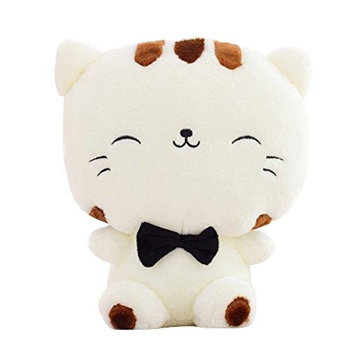 LQZ(TM) Jouet en Peluche Oreiller en Chat Doll Poupée Adorable Queue Longue Doudou pour Enfants et...