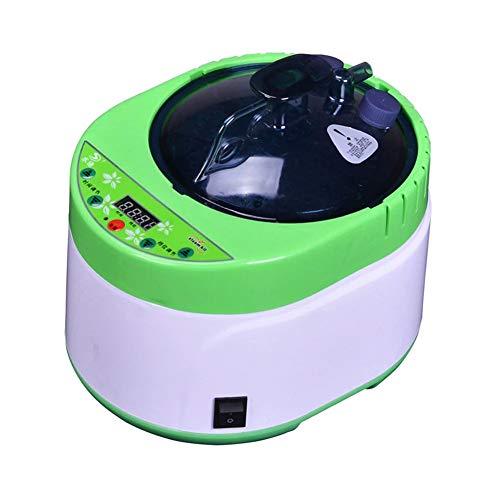 HixGB stoomgenerator, 4 liter, Home Sauna Steamer met timing en afstandsbediening, sauna Spa stoompan lichaamstherapie sauna accessoires, grote capaciteit