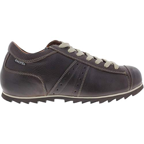 Snipe / Modell: Rippel Sport/Marron Braun Leder/Schnürer/Art: 42185-221 / Herren Sneakers Größe 46 EU