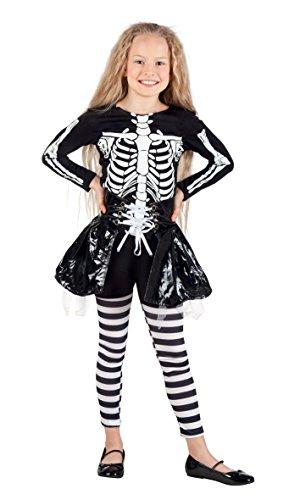 Boland 78075 - Chica Esqueleto Disfraz Niño