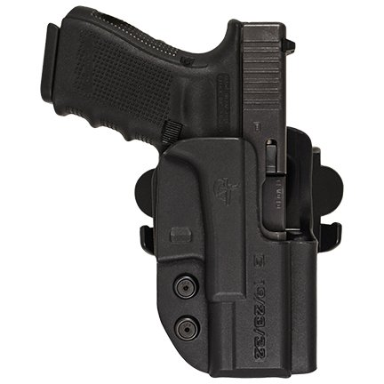 Comp-Tac International Holster OWB Kydex (Belt - Paddle - Drop Offset) Competition IDPA USPSA 3GUN