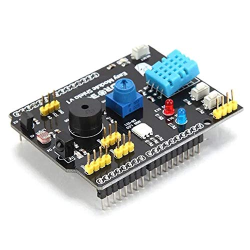for Arduino - Products That Work with Official Boards,Multifunction Expansion Board DHT11 LM35 Temperature Humidity for UNO Expansion Board Module