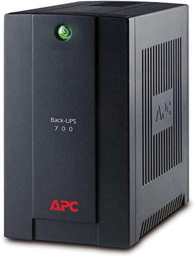 APC Back-UPS BX - BX700U-GR - Unterbrechungsfreie Stromversorgung 700VA (AVR, 4 Schuko Ausgänge, USB, Shutdown Software)