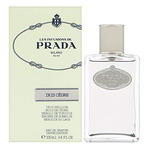 Prada Infusion Eau de Parfum, Iris Cedre, 3.4 Ounce