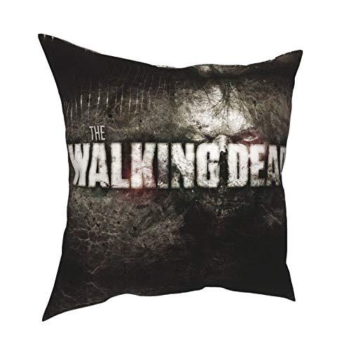 King ezekiel detective zombies a new frontier The Wal-king De-ad Daryl Dixon Throw cuscino camera da letto divano set compleanno con cerniera invisibile 50,8 x 50,8 cm
