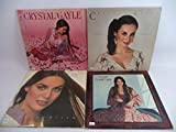 Crystal Gayle Lot of 4 Vinyl Record Albums When I Dream and more
