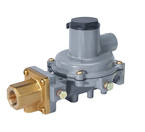 Emerson-Fisher LP-Gas Equipment R232A-HBF Compact Integral 2-Stage Regulator, 9.5-13' W.C Spring, POL x 1/2' NPT