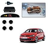 Semaphore Car Reverse Backup Radar System with 4 Parking Sensors Distance Detection +