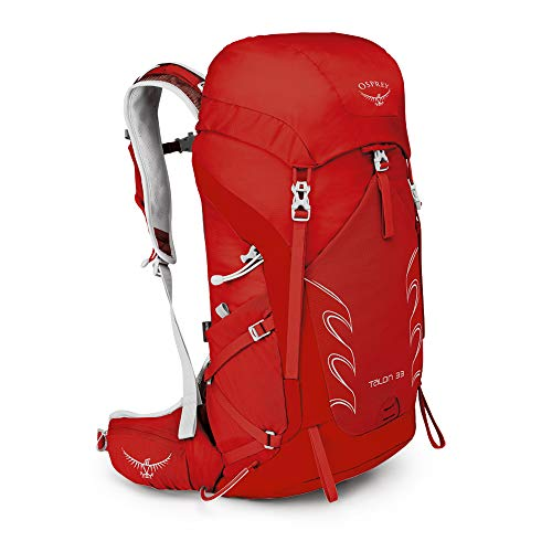 Osprey Packs Talon 33 Men's Hiking Backpack, Martian Red, Small/Medium
