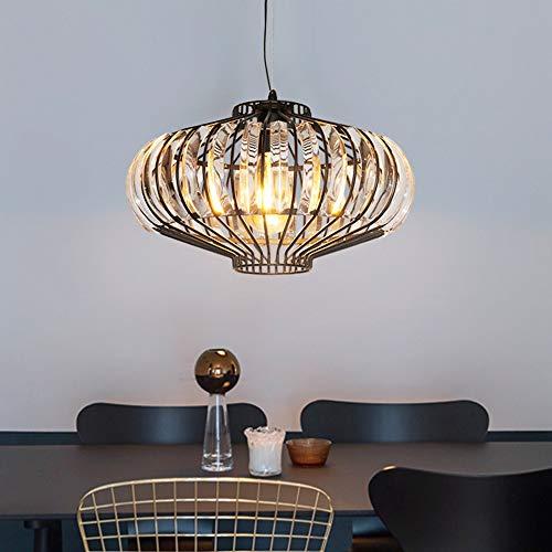 KIWG Creatieve Antiek Kristal Kroonluchter Retro Plafond Kroonluchter Retro Lamp Loft Cafe Bar Corridor Slaapkamer Kroonluchter E27