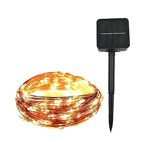 Catena Luminosa Solare PORTATO Lampada Solare all'aperto 1 2M 22M 32M 52M Le DS String Lights Fairy Vacanze Festa Natalizia Garland Garland Giardino Solare Luci Impermeabili per Giardino Patio