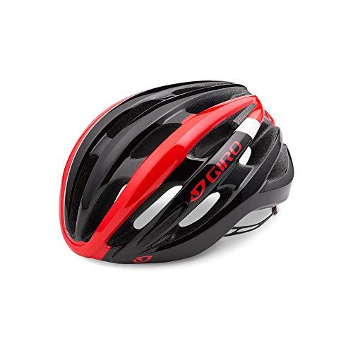 Giro Damen Fahrradhelm Foray 16,mehrfarbig (Bright Red/Black), Gr. M