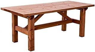 Amazon.es: mesas rusticas de madera: Jardín