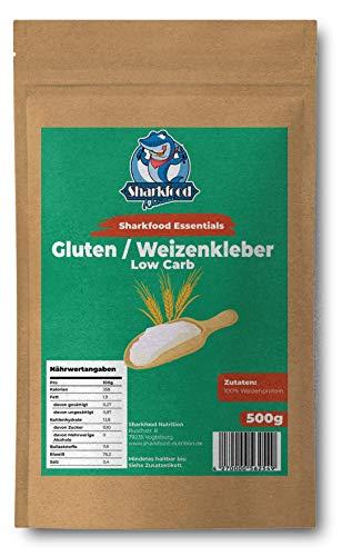 Premium Weizenkleber 500g | Lower Carb Mehlersatz | Weizenprotein | Gluten | Weizengluten | Seitan Basis (500)