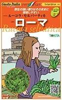 【ルーコラ・セルバーティカ】ローマ 小袋(500粒)(トキタ種苗)