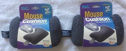 Computer Mouse Wrist Cushion, Gray