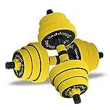YC Hanteln Dumbbell Fitness Hanteln Dumbbells Barbell Kombination abnehmbare Anschlussoptionen for...