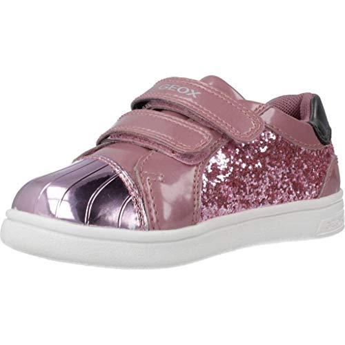 Geox B Djrock Girl E, Zapatillas para Bebés, (Dk Pink C8006), 22 EU