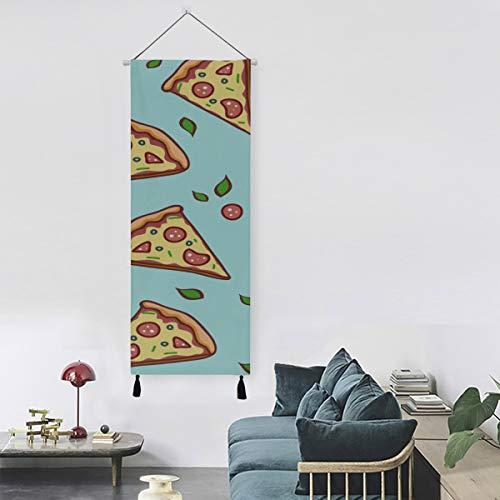 Delicious Pizza Pop Art Comics Light Art Decoración de pared Pinturas para paredes 13 pulgadas de ancho x 47 pulgadas de largo Decoración moderna para el hogar Decoración para el hogar Liquidación Ar
