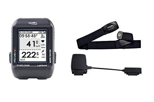 POSMA D3 GPS - Velocímetro para Bicicleta (Bluetooth Ant+ Dual Mode BCB30 Speed Cadence Sensor BHR20)