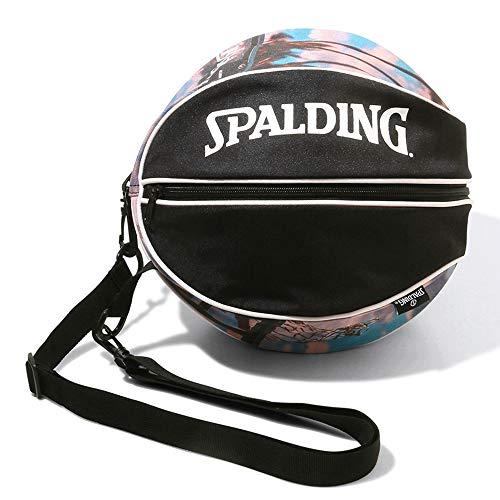 SPALDING(スポルディング) バスケットボール ボールバッグ サンセット 49-001SU ブラック バスケ バスケット