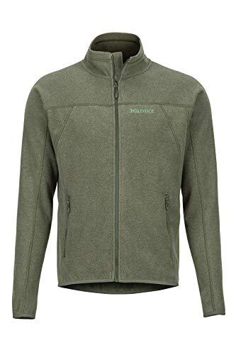 Marmot Herren Pisgah Jacket Atmungsaktiv Fleece Outdoorjacke, Crocodile, M
