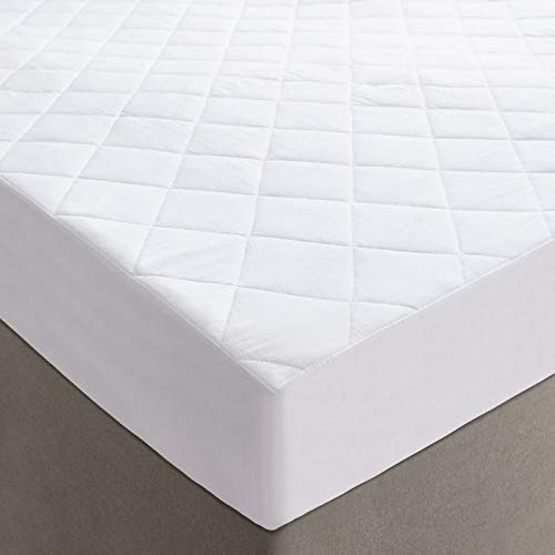 Highliving  Quilted Mattress Protector Cover, Extra Deep 12 Inches (152x200cm UK King)