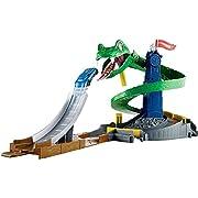 Hot Wheels Attacco al Cobra Playset per Stimolare Immaginazione e Creatività dei Bambini di 4 + Anni, Include una Macchinina, FNB20
