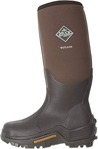 Muck Wetland Rubber Premium Men's Field Boots,Bark,Men's 7 M/Women's 8 M