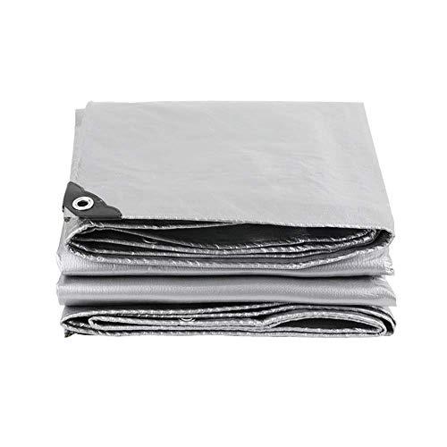 ZXL Regendichte doek, zonnebrandcrème Zonnebrandcrème Isolatie Reflecterende doek voor buiten Regenbestendig waterdicht dekzeil Zwaar vuil (Kleur: Style2, maat: 8x10m) 5x5m Stijl1