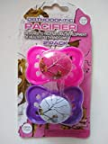 RealTree Baby Camoflauge Camo Pacifier - Pink Camo Pacifier - Orthodontic Pacifier for Girl - 2 Count