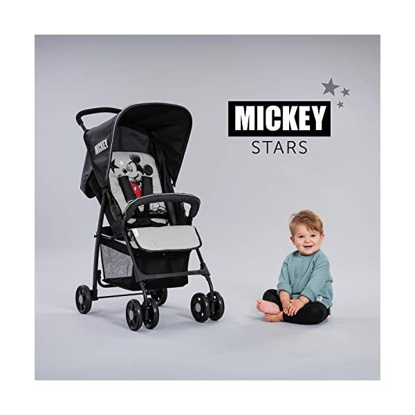 Sport- Disney Mickey Stars Light Stroller Hauck genuine original 8