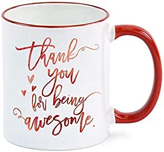 Employee Gift Thank You For Being Awesome Mug Employee Appreciation Gift Administrative Professionals Day Admin Assistant