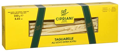Cipriani Tagliarelle Bandnudeln All Uovo, mit Ei, 7mm breit, 250g