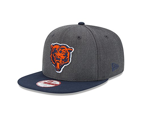 NFL Chicago Bears New Era Historic Heather Graphite 9FIFTY Original Fit Cap, Graphite, One Size