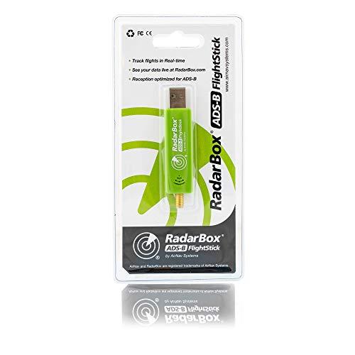 AirNav RadarBox FlightStick ADS-B USB-Empfänger mit integriertem Filter, Verstärker und ESD-Schutz