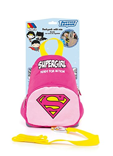 Mochila Supergirl con arnés de seguridad