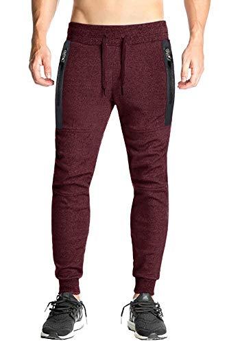 EKLENTSON Pantalones de chándal de algodón para Hombre, Pantalones Deportivos para Gimnasio,...