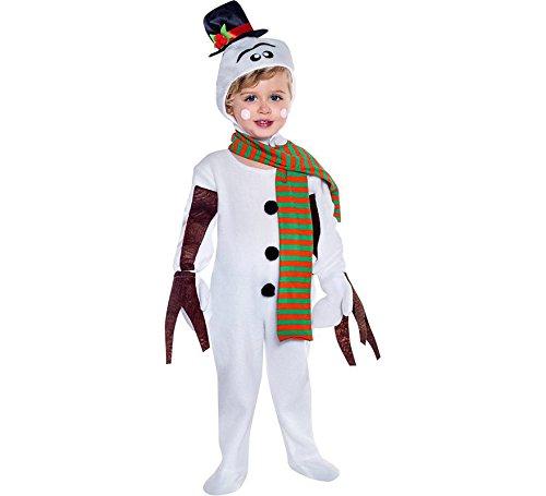 Disfraz de Muñeco de nieve en varias tallas
