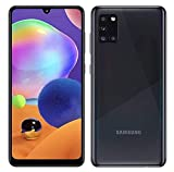 Samsung Galaxy A31 64GB / 4GB - A315G/DSL Unlocked Dual Sim Phone w/Quad Camera 48MP+8MP+5MP+5MP GSM International Version (Prism Crush Black)