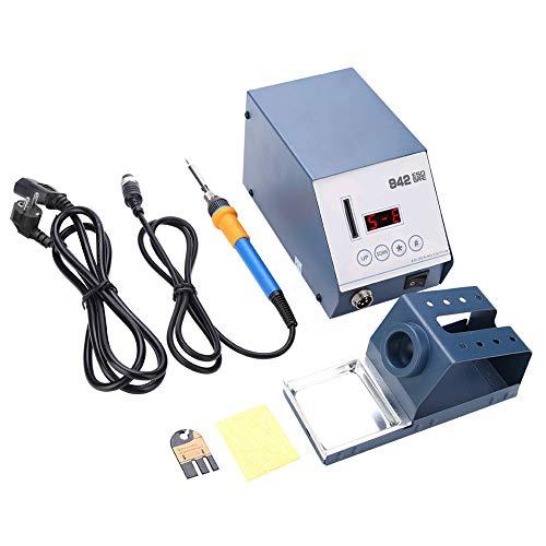 Elektrische Lötstation, 90W Digitale Lötstation mit Lötkolben Set 150-450°C Einstellbare Temperatur Lötstation für Reparatur von Mobiltelefonen, elektronischen Produkten, SMD-Komponenten (942)