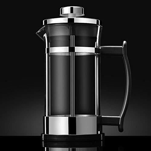 350 ml Café Prensas francesas Hervidor de agua Cafetera doméstica Herramienta para hacer café Filtro de café Brew Cold Tea Pot Jarra de espuma de leche Percolator, 350ml