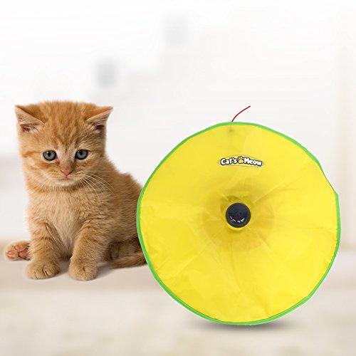 4Geschwindigkeiten Electronic Meow Undercover Maus Katze Spielzeug Training Werkzeug für Katzen jeden Alters
