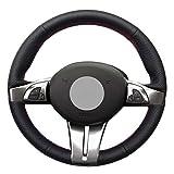 Pangtyus Cubierta del Volante del Coche Fundas Volante Cosida,para BMW Z4 E85 (Roadster) 2003-2008 E86 (Coupe) 2005-2008