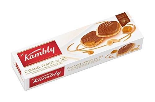 Kambly Caramel Pointe de Sel 100 g, 12er Pack (12 x 100 g)
