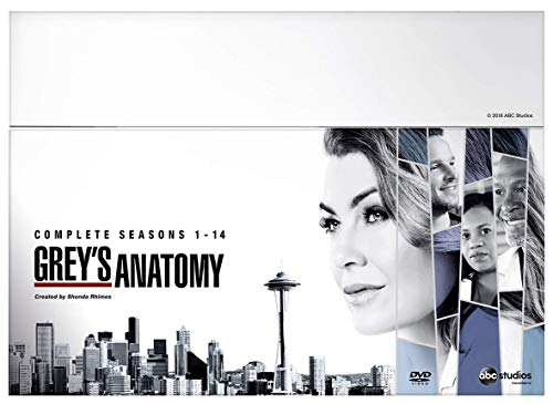Grey's Anatomy - Seasons 1-14 [Italia] [DVD]