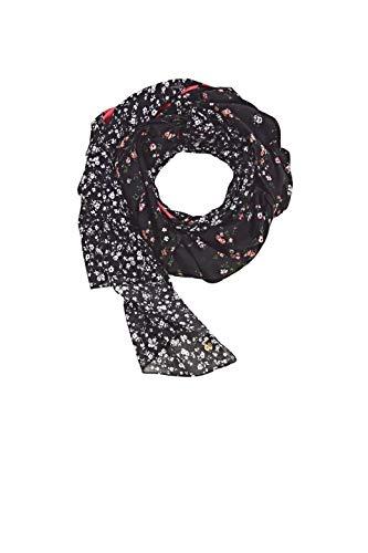 ESPRIT edc by Accessoires Damen 021CA1Q301 Mode-Schal, 001/BLACK, 1SIZE